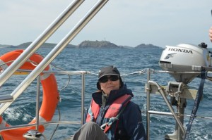 Therasa and Round island on Scilly