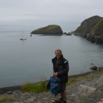 Jim on lundy.