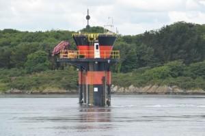 Strangford tidal turbine